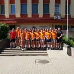 Túl a harmadik héten, békéscsabai edzőtábor, sikeres első edzőmérkőzés a Békéscsaba ellenében