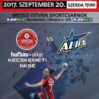 Szerdán 17 órától ismét hazai pályán a Hufbau-Akker Kecskeméti NKSE, az Alba Fehérvár KC érkezik