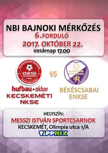NB1 Bajnoki mérkőzés – Hufbau-Akker Kecskeméti NKSE – Békéscsabai ENKSE