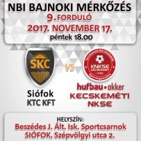 NB1 Bajnoki Mérkőzés – Siófok KTC KFT – Hufbau-Akker Kecskeméti NKSE