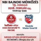 NB1 Bajnoki Mérkőzés – Hufbau-Akker Kecskeméti NKSE – Kisvárda Master Good SE