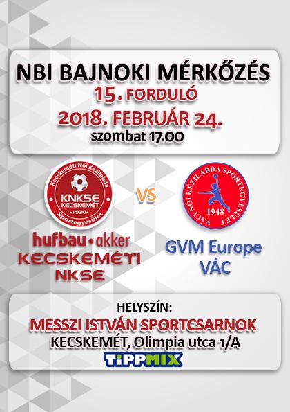 NB1 Bajnoki Mérkőzés – Hufbau-Akker Kecskeméti NKSE – GVM Europe-Vác