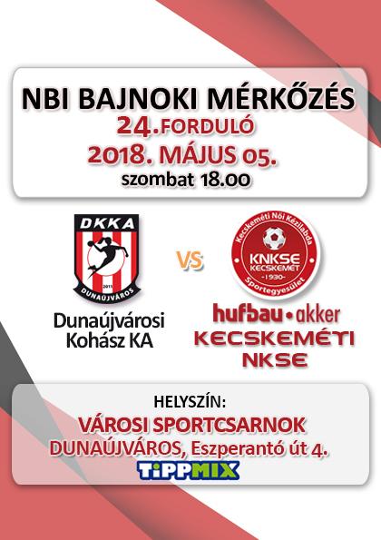 NB1 Bajnoki Mérkőzés – DKKA – Hufbau-Akker Kecskeméti NKSE