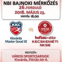 NB1 Bajnoki Mérkőzés – Kisvárda Master Good SE – Hufbau-Akker Kecskeméti NKSE