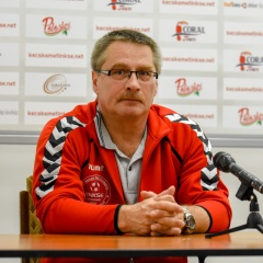 KNKSE-Levendula H. FKSE Algyő mérkőzés utáni sajtótájékoztató